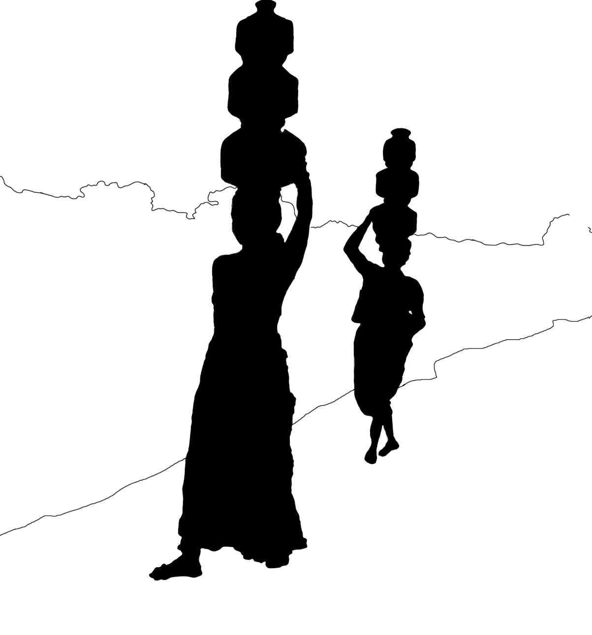 silhouette of india india flag silhouette subpng pngfly silhouette india of