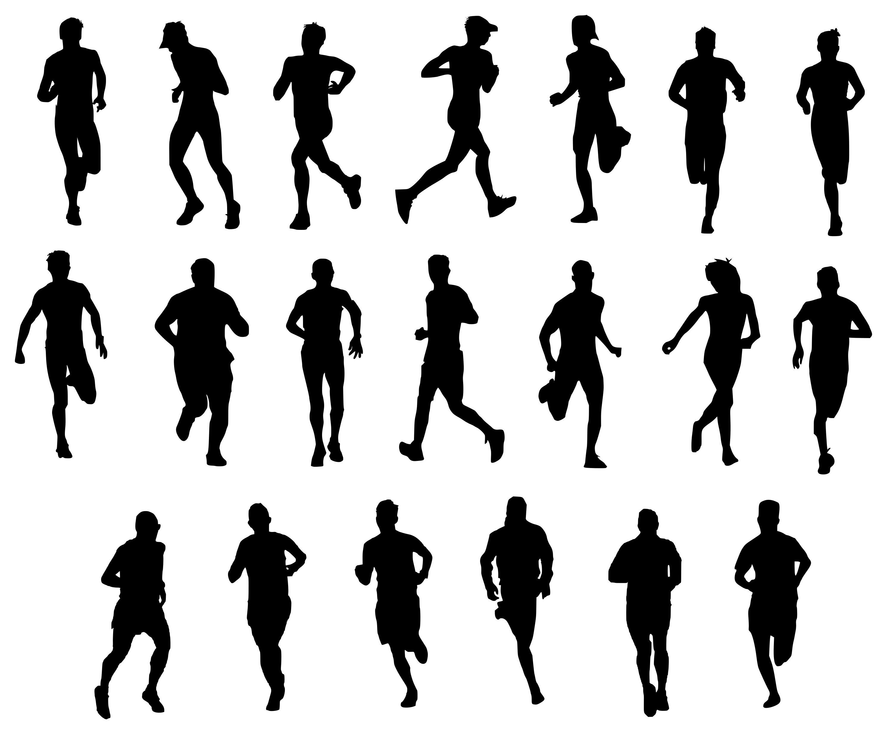 silhouette person running 20 man running silhouette png transparent onlygfxcom silhouette running person
