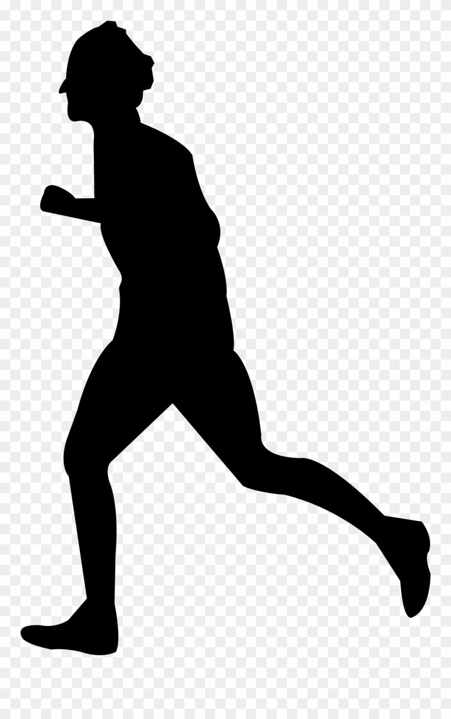 silhouette person running run vectors photos and psd files free download running silhouette person