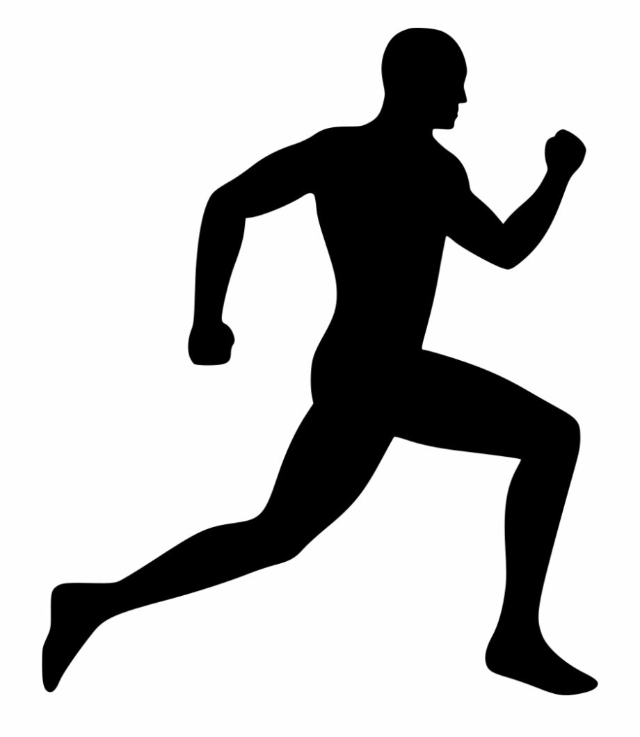 silhouette person running running clipart png 20 free cliparts download images on person silhouette running