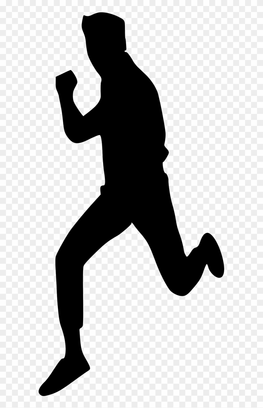 silhouette person running vector graphics running man silhouette png clipart silhouette person running