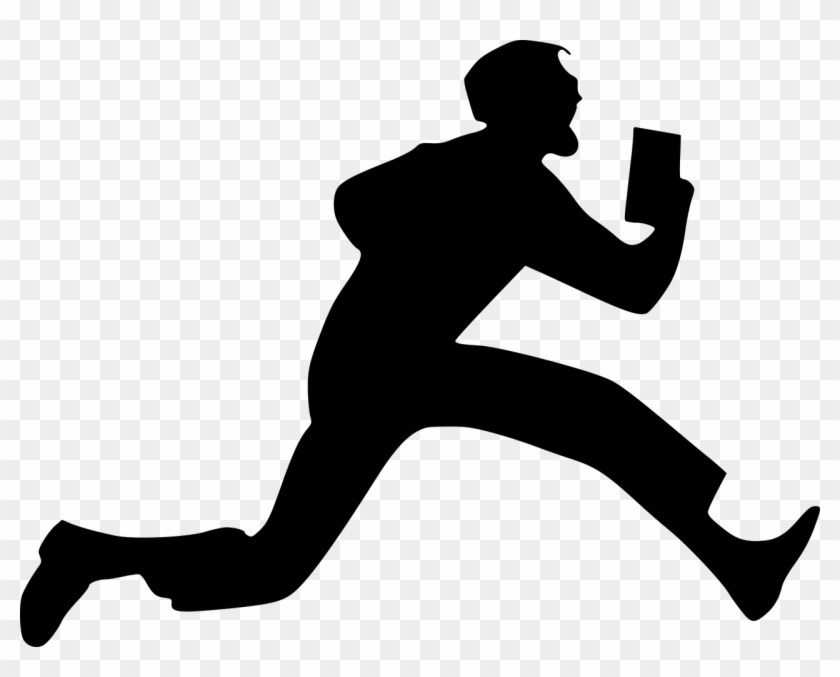 silhouette person running vector graphics vector art silhouette man running hd silhouette running person