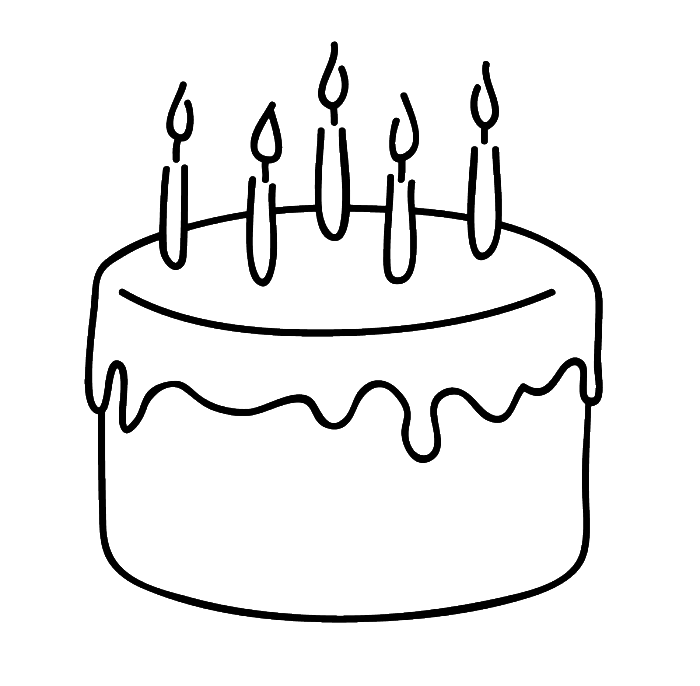 simple cake coloring pages 28 images of wedding tier cake template leseriailcom cake coloring simple pages