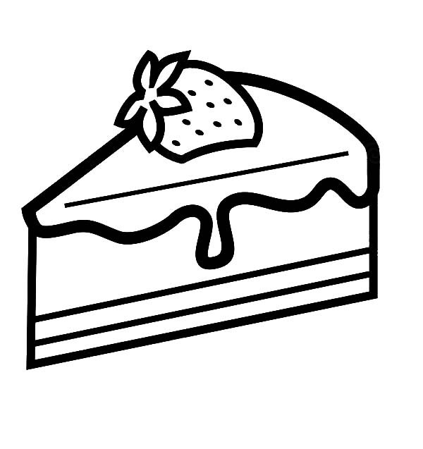 simple cake coloring pages free easy to print cake coloring pages in 2020 pages cake coloring simple