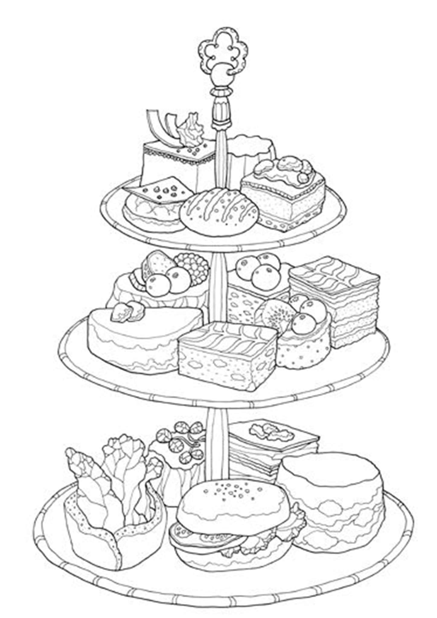 simple cake coloring pages image result for colouring for kids coloring pages cool cake simple pages coloring