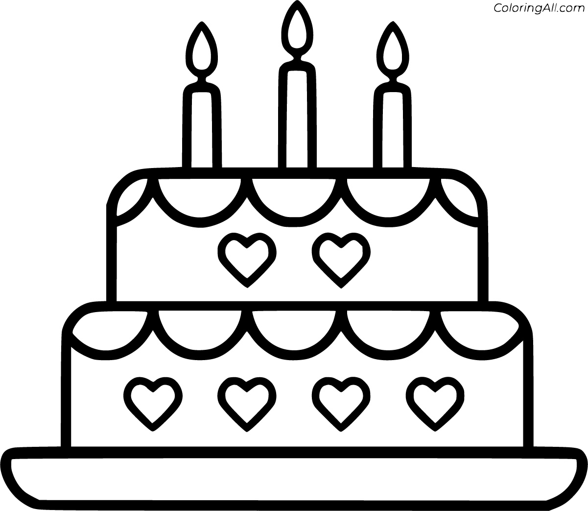 simple cake coloring pages pretty cakes successful coloring page wecoloringpagecom cake pages simple coloring