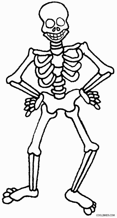 skeleton coloring pages halloween colorings pages coloring skeleton