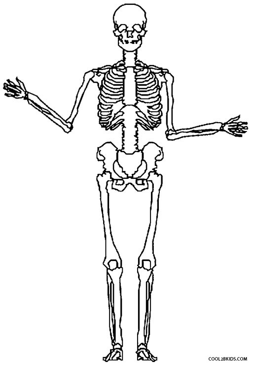 skeleton coloring pages skeleton coloring pages to download and print for free pages skeleton coloring