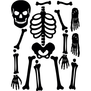 skeleton silhouette silhouette design store view design 4828 positionable skeleton silhouette