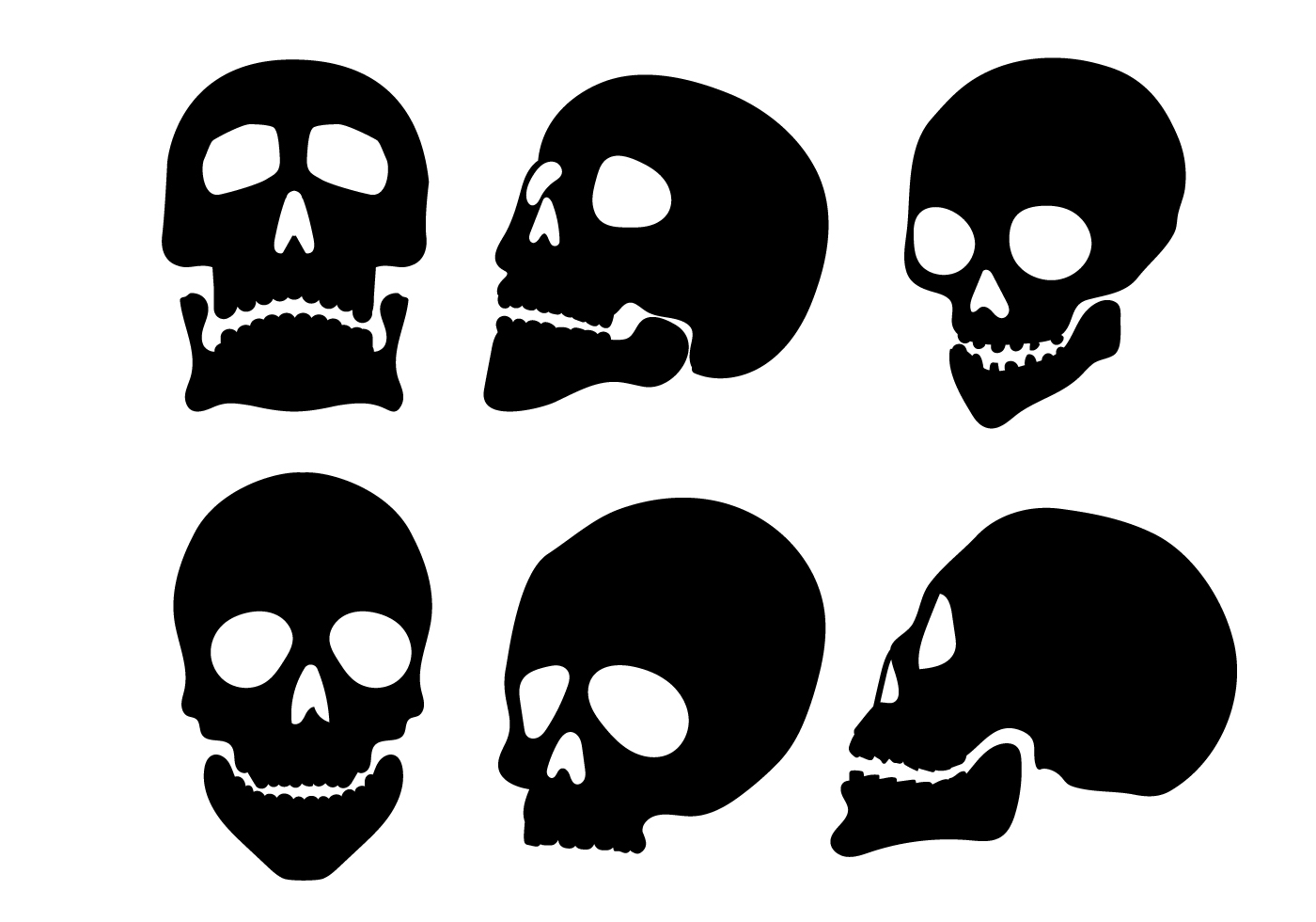 skeleton silhouette skull silhouette vectors download free vector art stock silhouette skeleton
