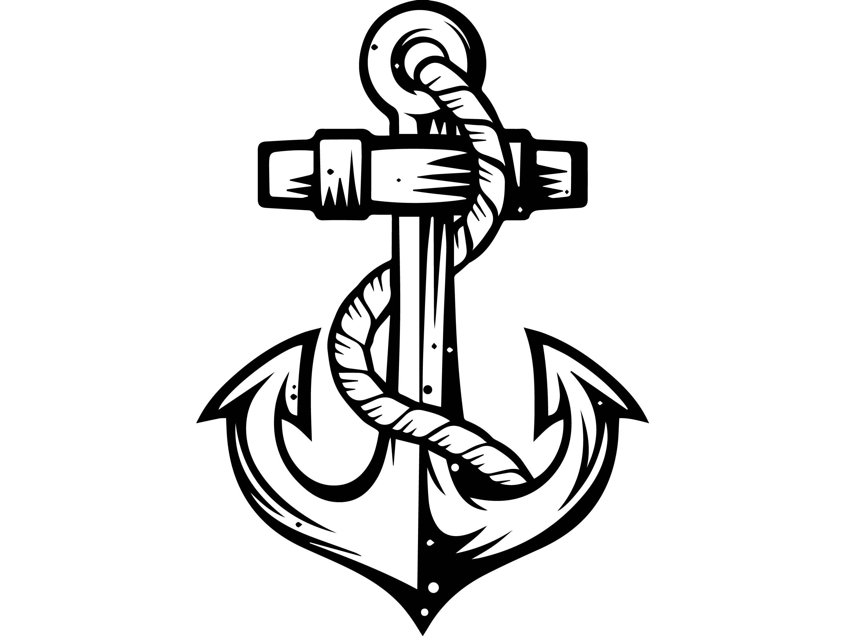 sketch of an anchor best alaska cruise illustrations royalty free vector of an sketch anchor