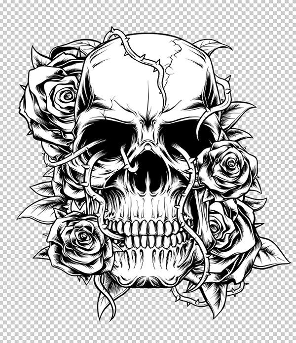 skull color pin on coloring pages to print color skull