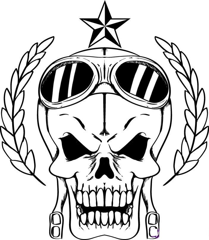 skull color skull coloring pages free download on clipartmag skull color