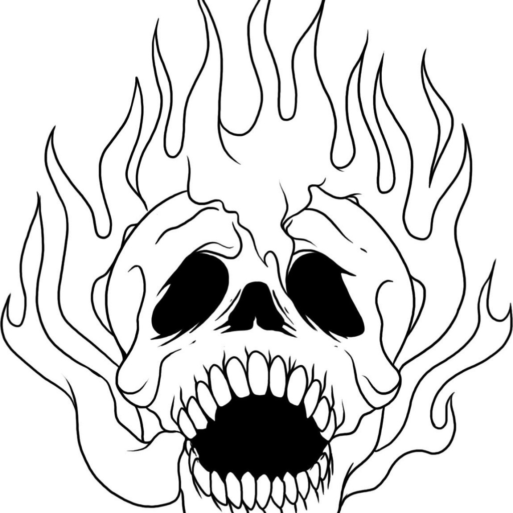 skull color skull coloring pages to print at getdrawings free download skull color