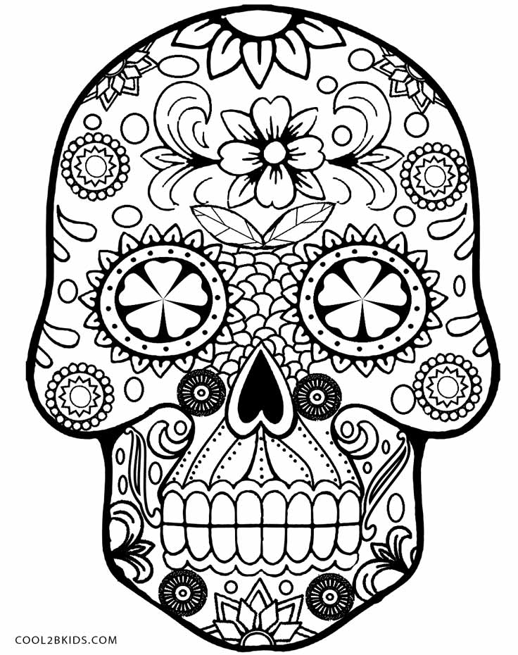 skull color skull colouring page by welshpixie on deviantart color skull