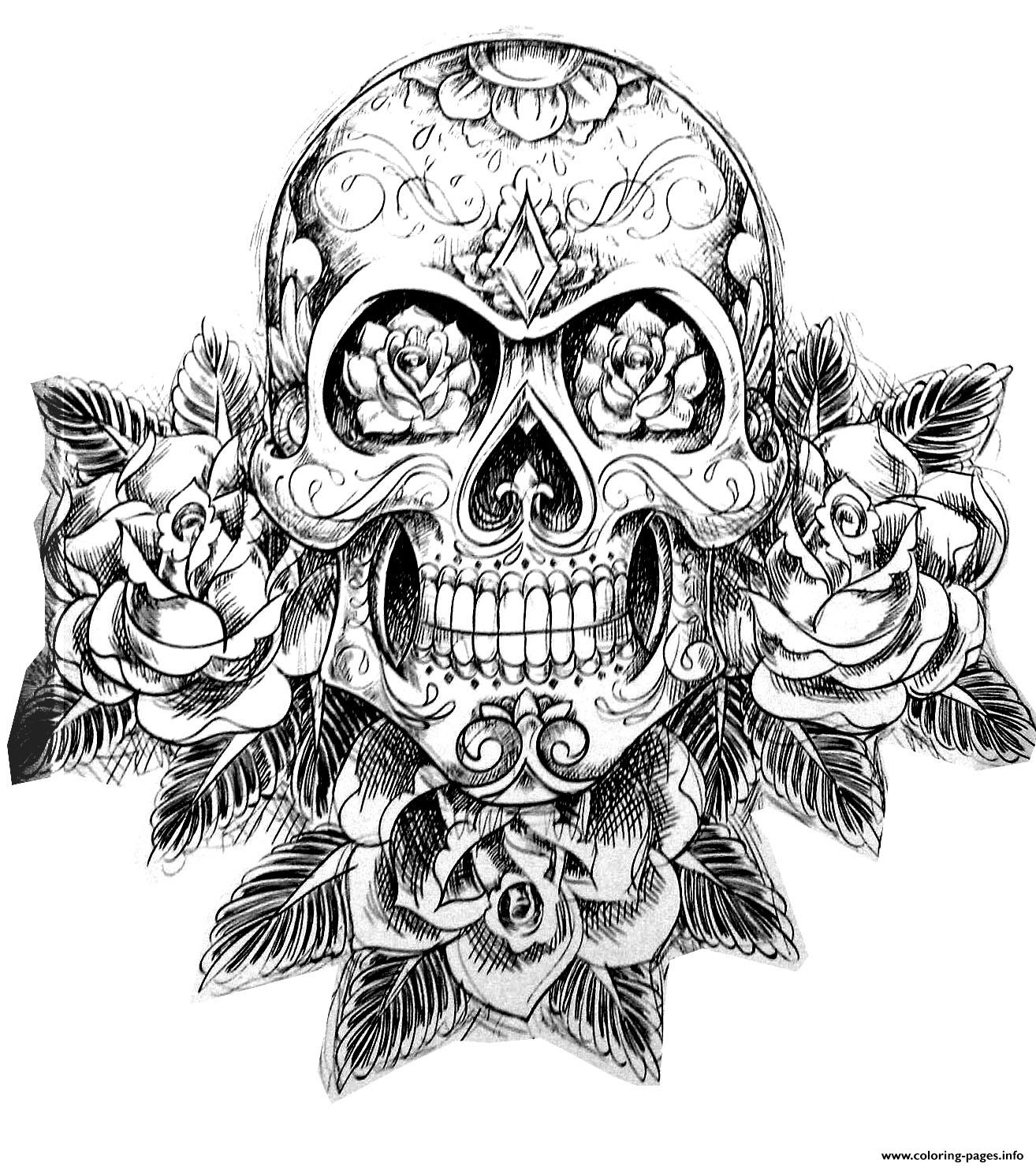 skull colouring pictures coloring pages skull free printable coloring pages colouring skull pictures