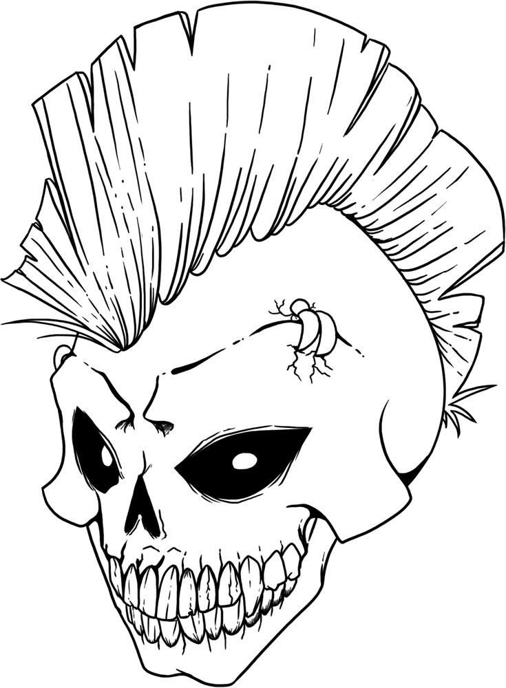 skull colouring pictures print download sugar skull coloring pages to have skull pictures colouring