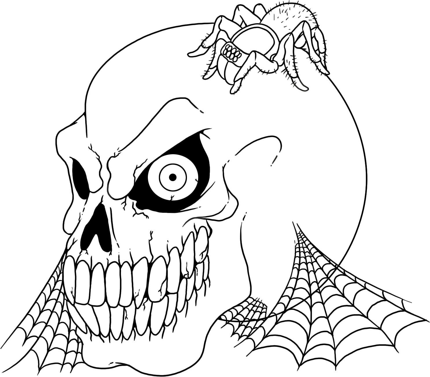 skull colouring pictures printable skull coloring pages coloringmecom pictures skull colouring