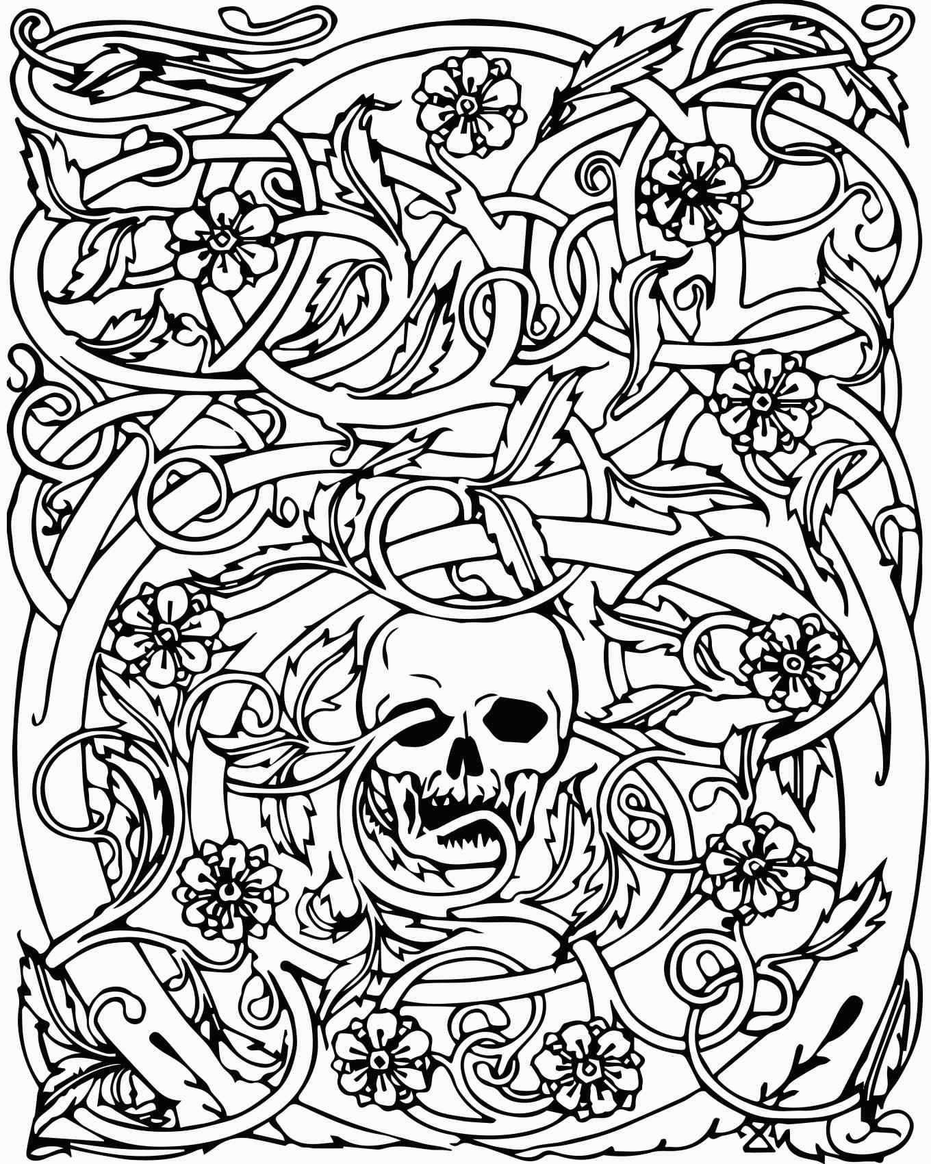 skull colouring pictures sugar skull coloring page coloring home skull pictures colouring