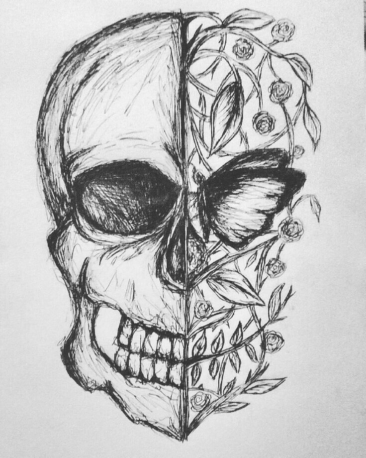 skull drawing easy free simple skull cliparts download free clip art free drawing easy skull