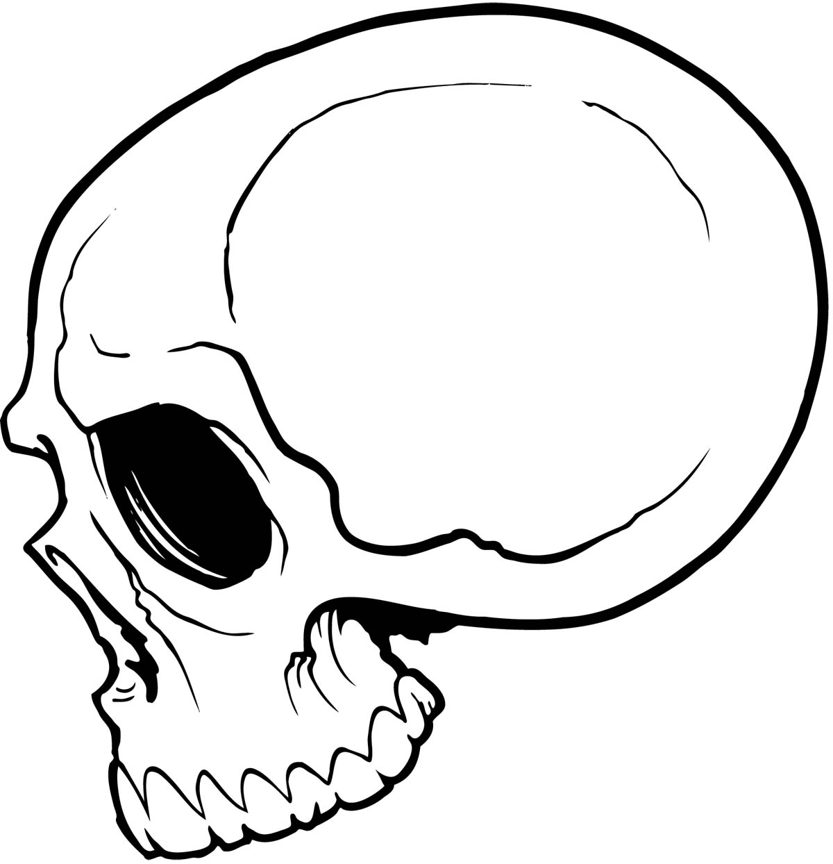 skull drawing easy how to draw a traditional skull tattoo step by step skull easy drawing