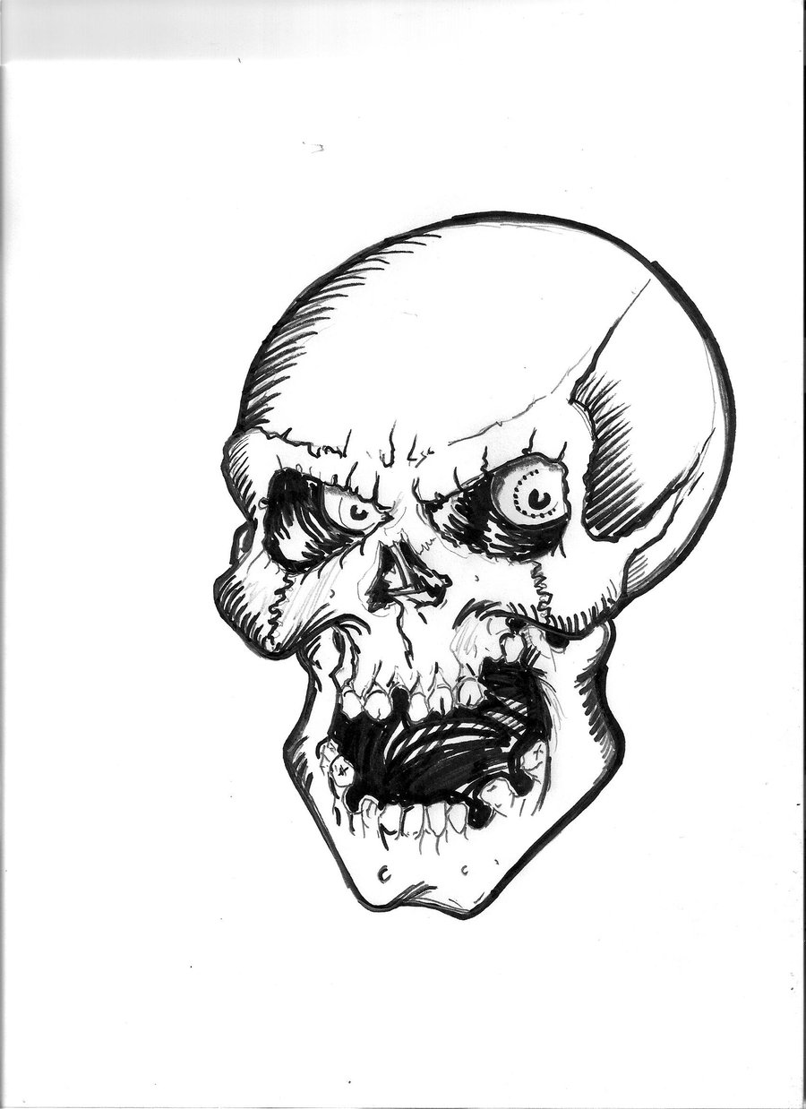 skull drawing easy simple skull clipart clipart suggest drawing skull easy