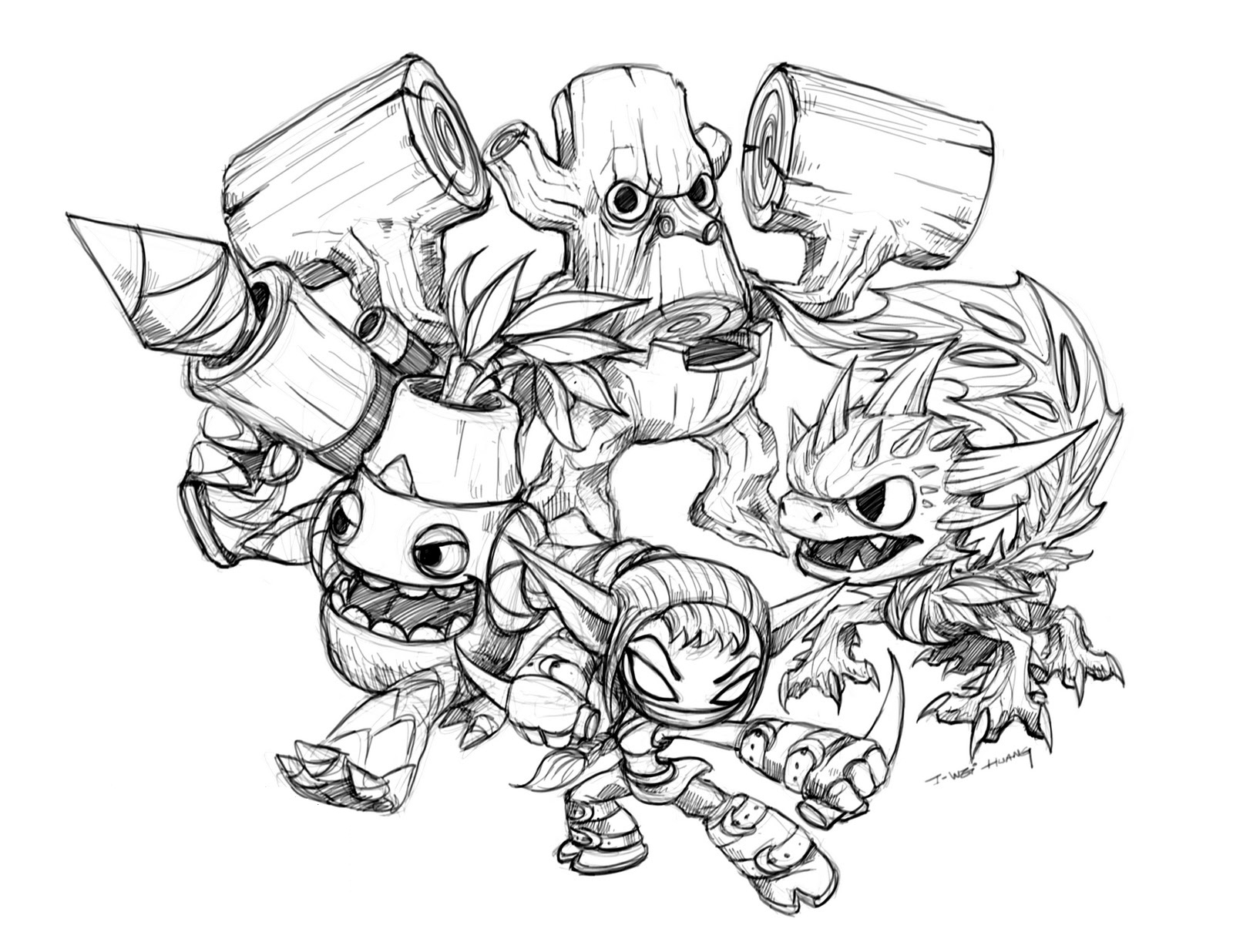 skylanders coloring pages free 1000 images about skylander39s coloring pages on pinterest coloring skylanders pages free