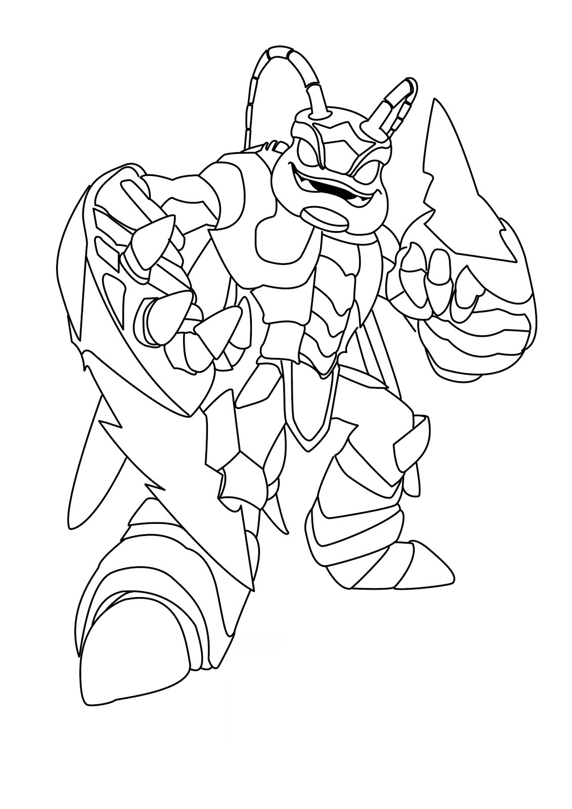 Skylanders coloring pages free