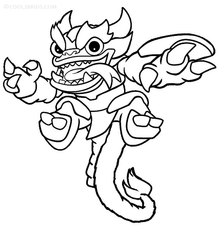 skylanders coloring pages free printable skylander giants coloring pages for kids skylanders pages free coloring