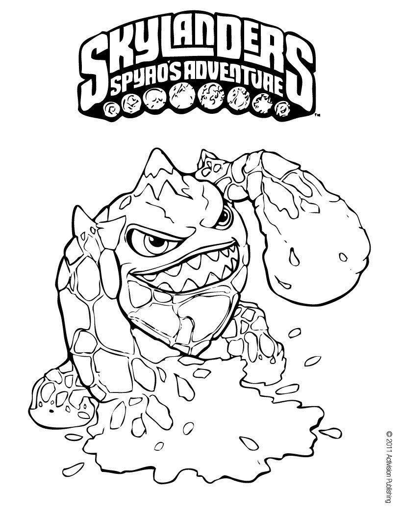 skylanders coloring pages free printable skylanders coloring pages free coloring skylanders pages