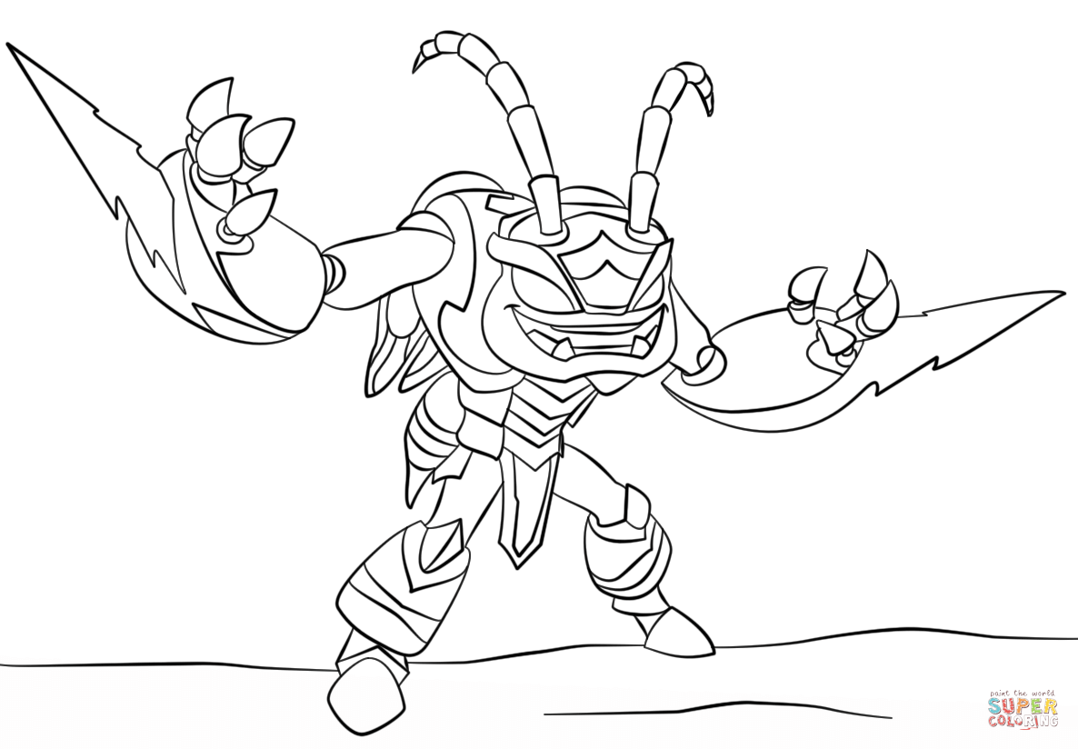 skylanders giants thumpback coloring pages hot head skylander coloring pages skylanders giants water pages giants thumpback coloring skylanders