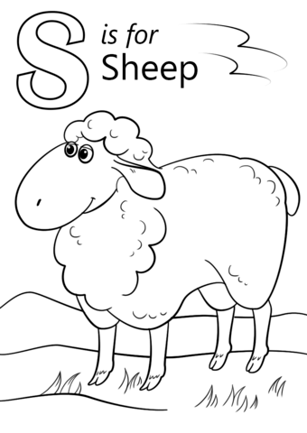 smores coloring pages letter s with animals coloring page from english alphabet smores coloring pages