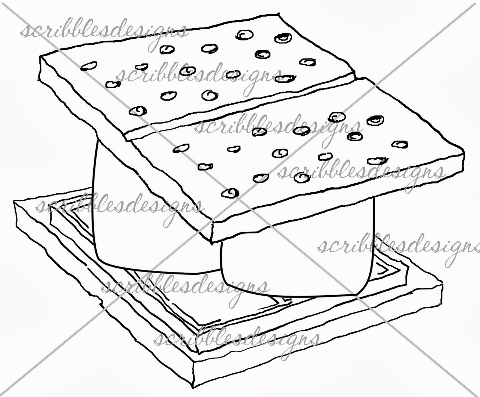 smores coloring pages s mores coloring page bltidm coloring pages smores