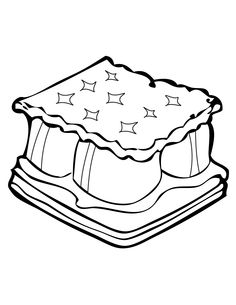 smores coloring pages smore clipart free download on clipartmag coloring pages smores