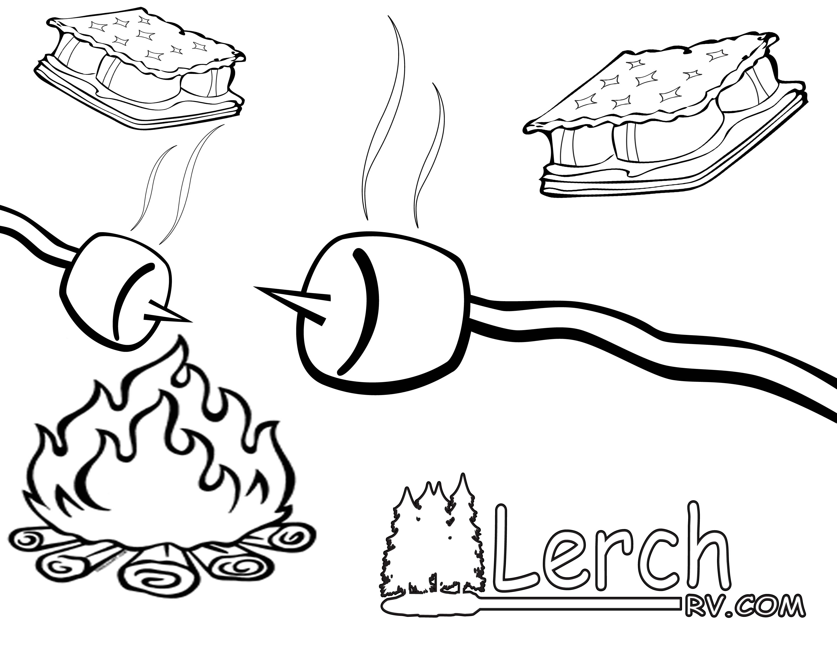 smores coloring pages smores clip art camping coloring pages coloring pages smores pages coloring