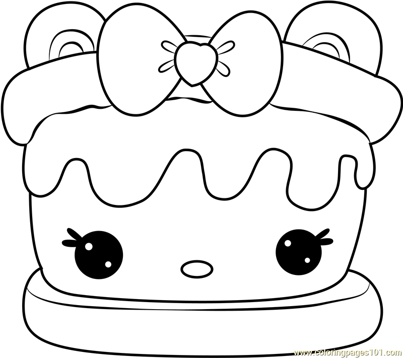 S'mores coloring pages