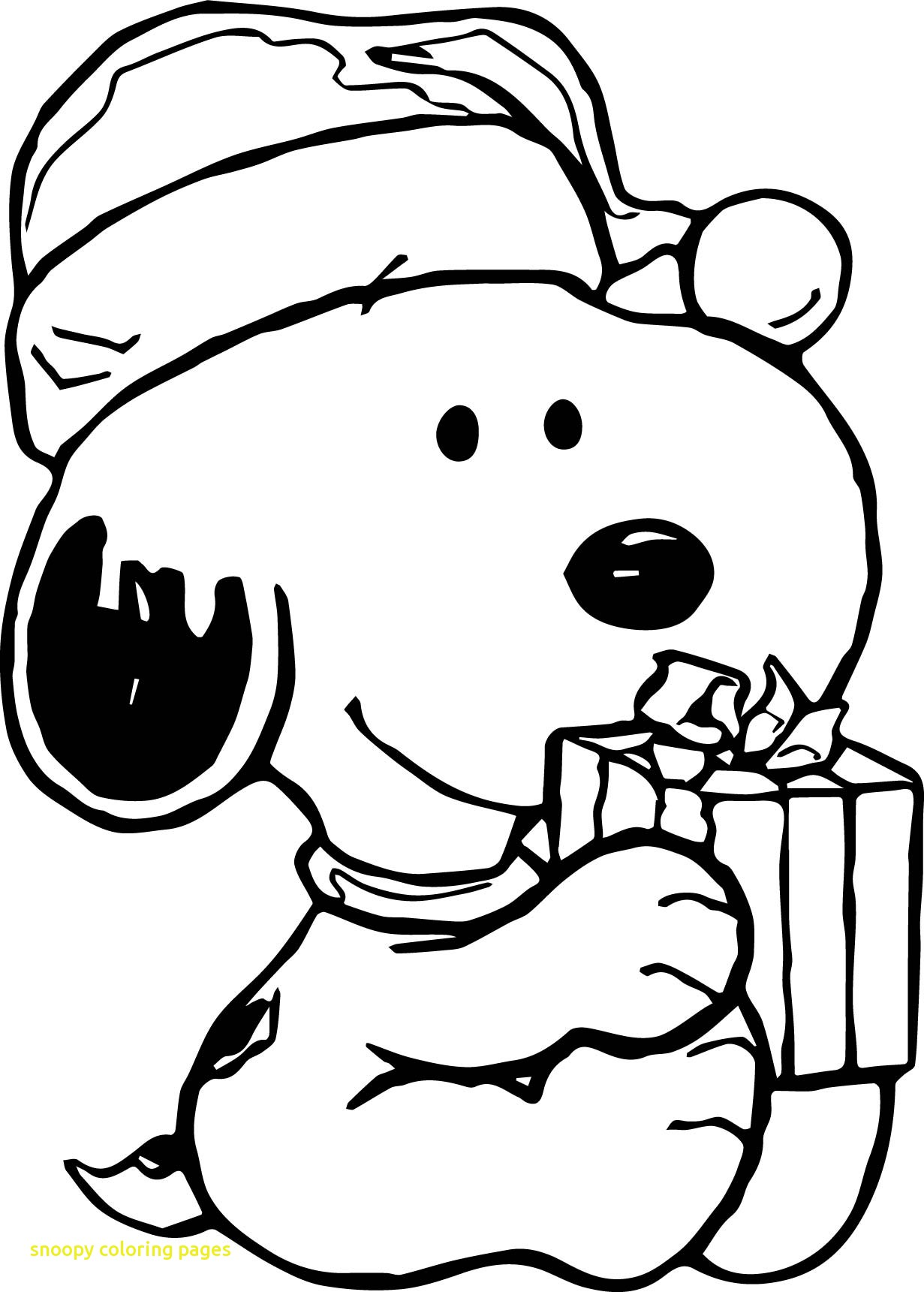 Snoopy coloring sheets