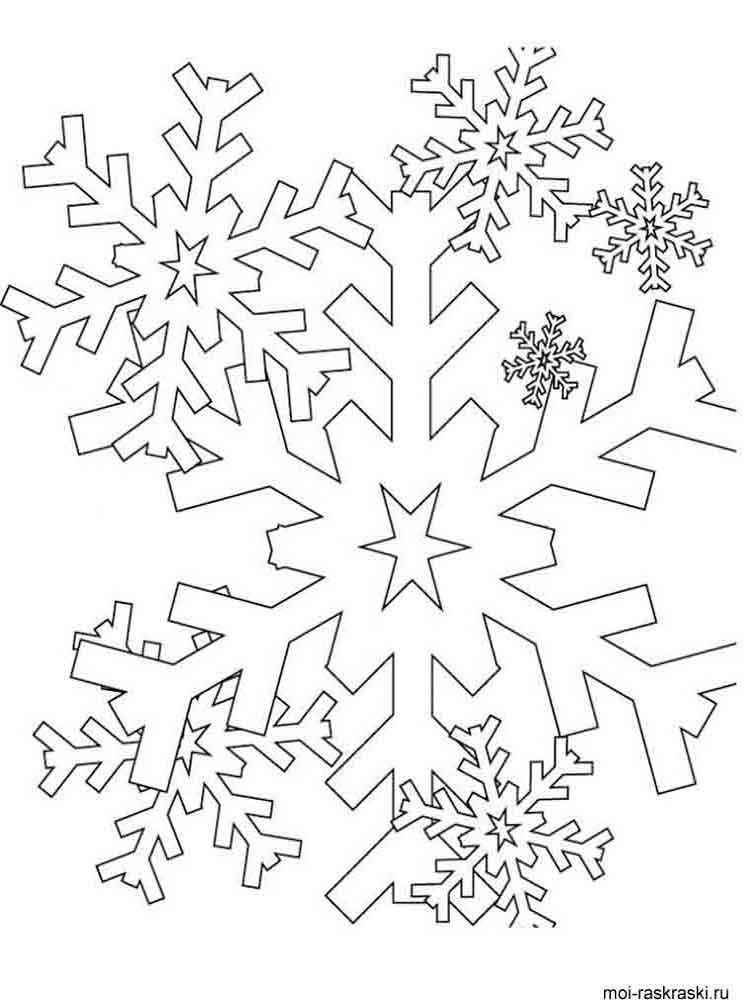 snowflake pictures to color coloring page snowflake with snowmen pictures color snowflake to