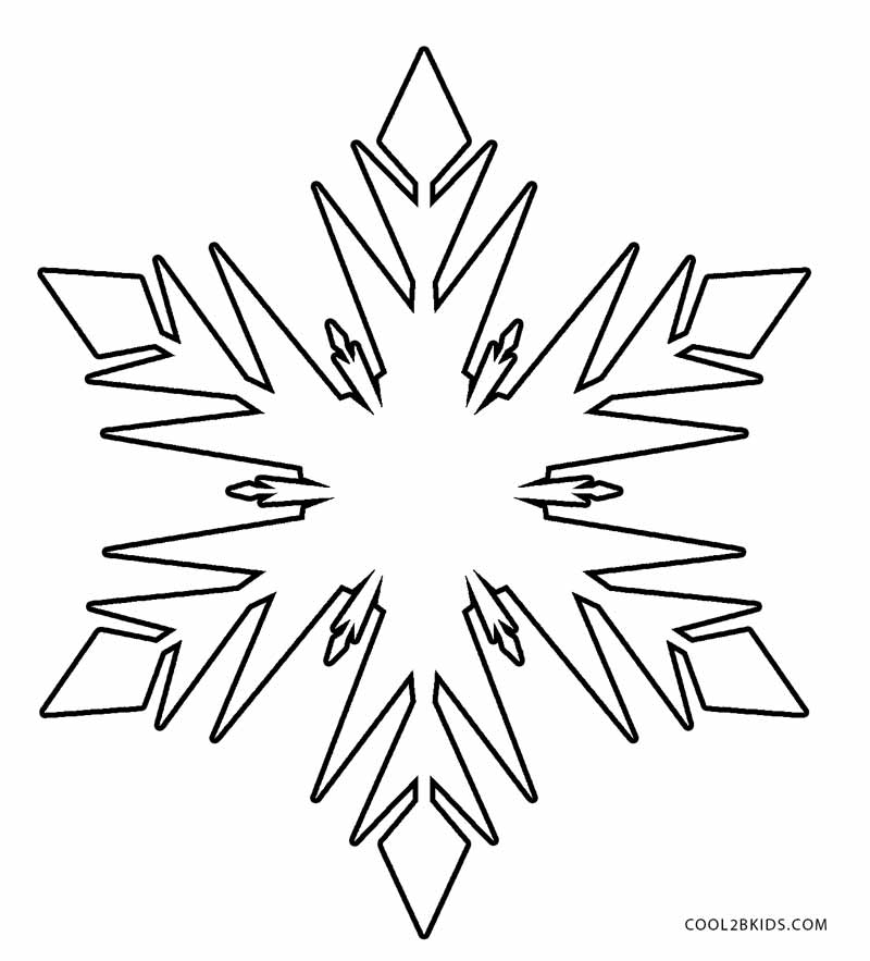 snowflake pictures to color free printable snowflake coloring pages pictures color to snowflake