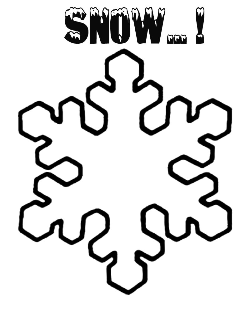 snowflake pictures to color fun and easy snowflake coloring page snowflake to color pictures