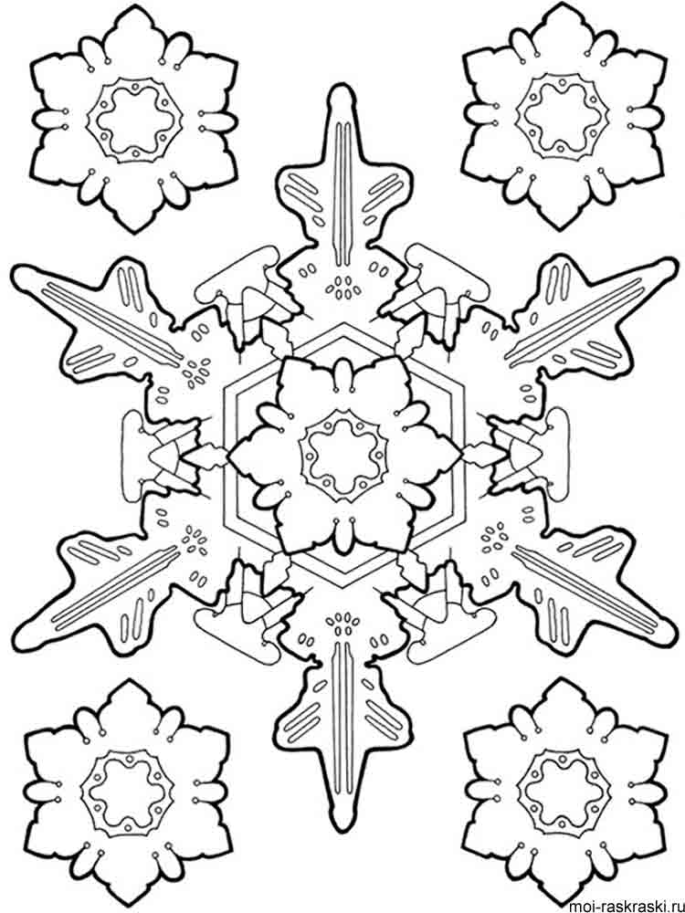 snowflake pictures to color snowflake coloring pages for preschoolers coloring home to snowflake color pictures