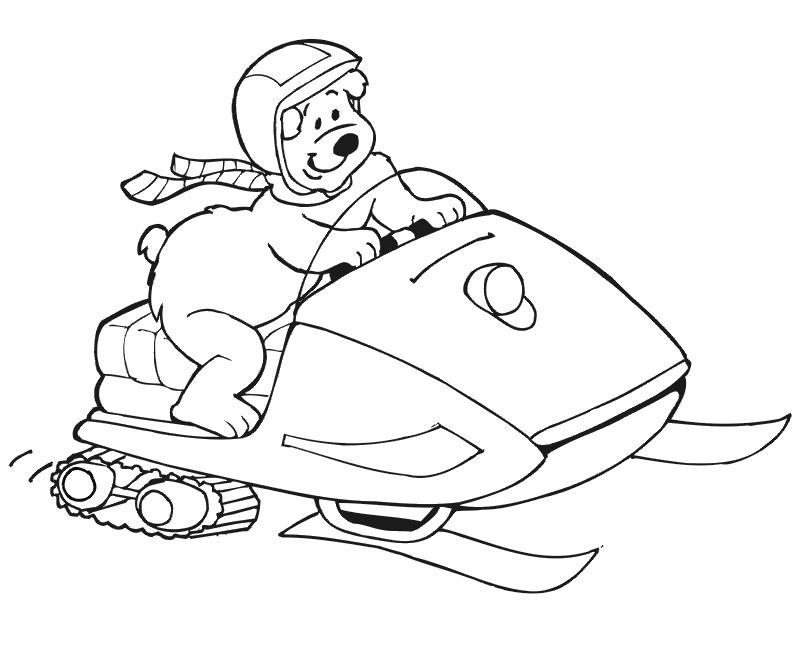 snowmobile coloring pictures snowmobile coloring pages at getcoloringscom free coloring pictures snowmobile
