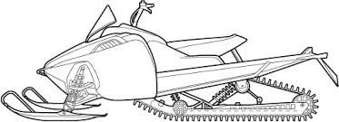 snowmobile coloring pictures snowmobile drawing google search snowmobile line pictures coloring snowmobile