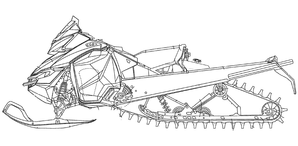 snowmobile coloring pictures snowmobile drawings sketch coloring page snowmobile pictures coloring