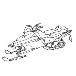 snowmobile coloring pictures snowmobile drawings sketch coloring page with images pictures coloring snowmobile