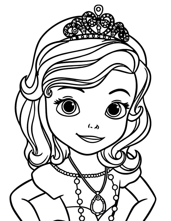 sofia pictures to colour princess sofia coloring page for kids disney for girls to colour sofia pictures
