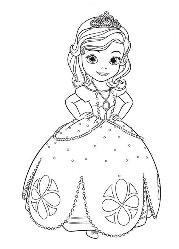 sofia pictures to colour princess sofia drawing at getdrawings free download to sofia pictures colour