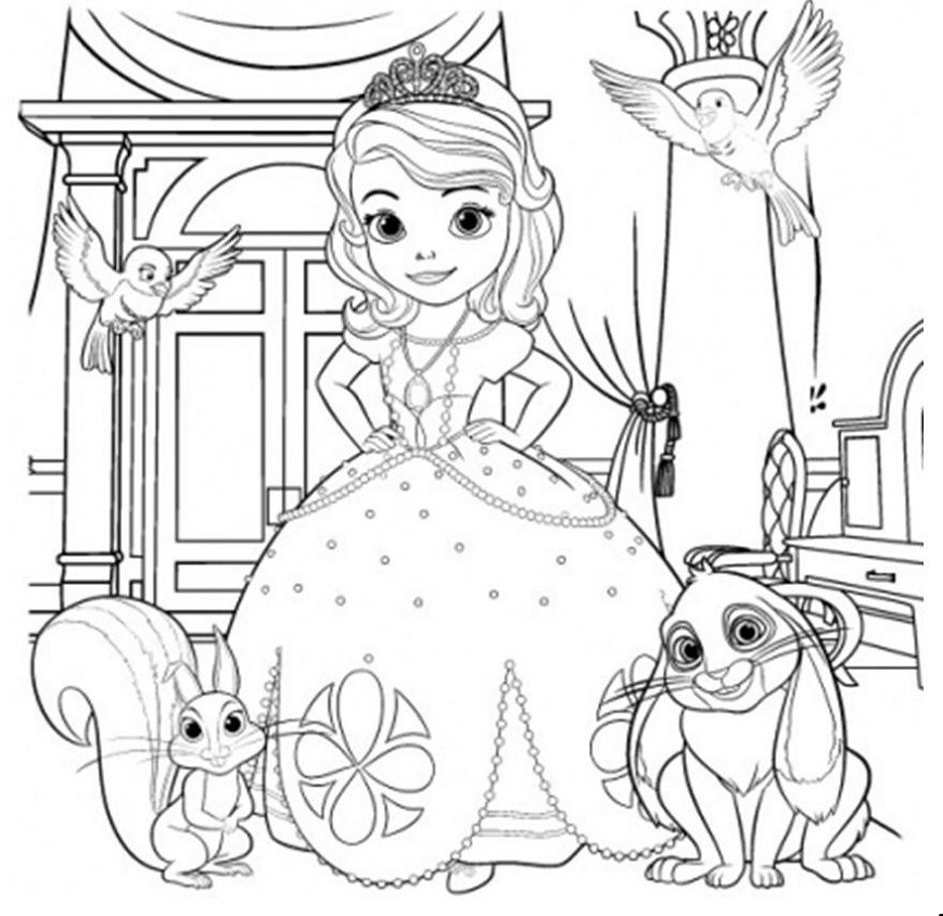 sofia pictures to colour sofia the first coloring pages to print to sofia pictures colour