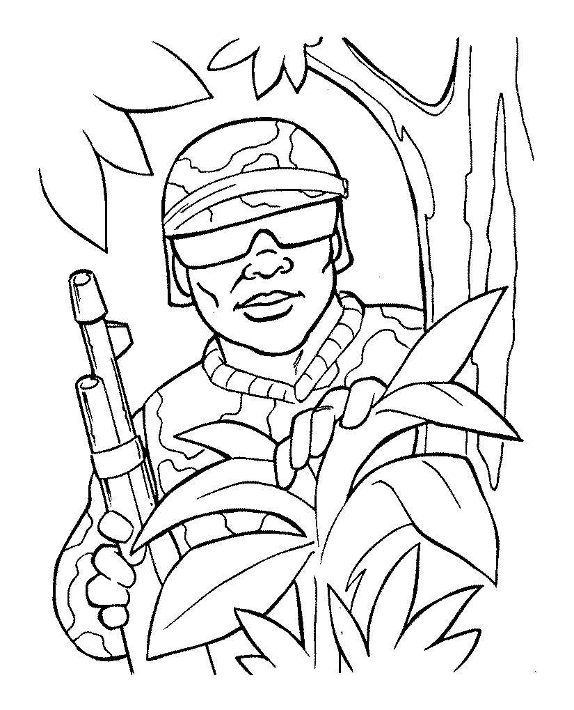 soldier color awesome new soldier coloring page elias color soldier