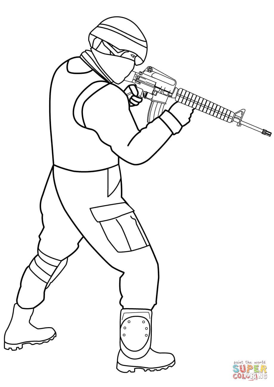 soldier color soldier coloring pages to download and print for free color soldier 1 1